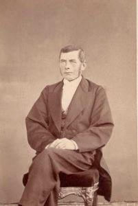Christian Benedictsson ca 1871