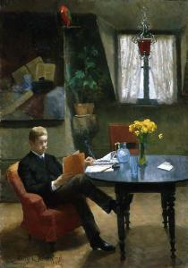 Kitty Kielland: Arne Garborg, 1887